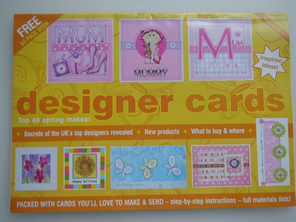 Designer Cards Volume 3 ~ Mini Magazine