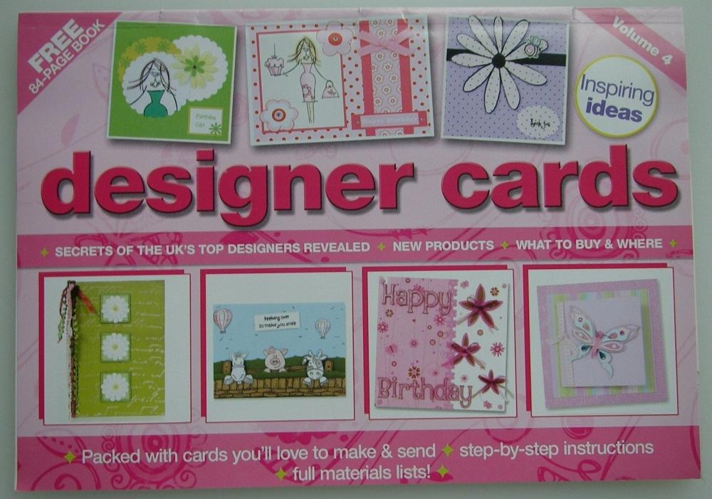 Designer Cards Volume 4 ~ Mini Magazine