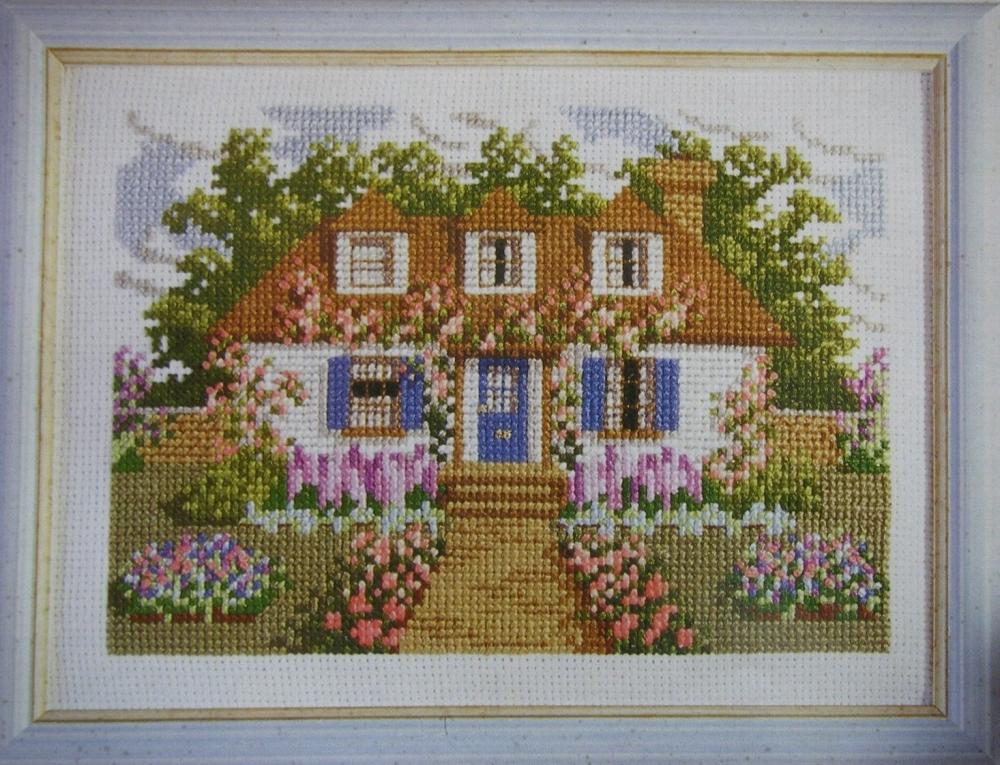 Dream Cottage ~ Cross Stitch Chart