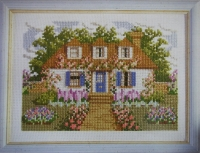 Dream Cottage ~ Cross Stitch Chart