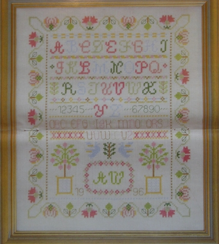 Alphabet Sampler ~ Cross Stitch Chart