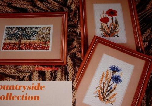 Poppy, Cornflower & Cornfield ~ Three Cross Stitch Charts