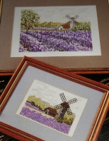 Lavender Fields ~ Cross Stitch Charts