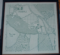 Creating Maps in Blackwork ~ Blackwork Patterns
