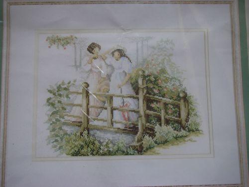Maria Van Scharrenburg: Spring Morning 9317 ~ Cross Stitch Kit
