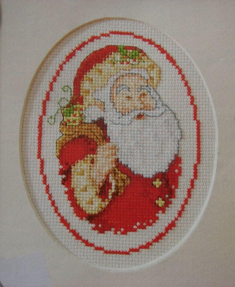 Santa Claus ~ Cross Stitch Chart