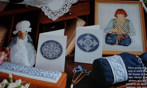 The Lace Maker ~ Seven Cross stitch Charts