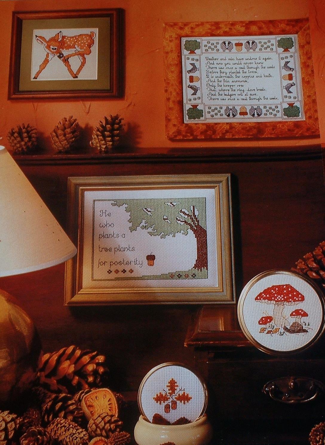 A Woodland Walk ~ Five Cross Stitch Charts