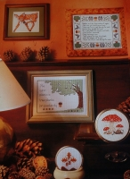 A Woodland Walk ~ Five Cross Stitch Charts