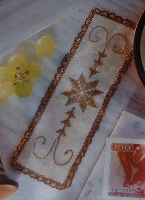Cypriot Style Embroidered Bookmark ~ Embroidery Pattern