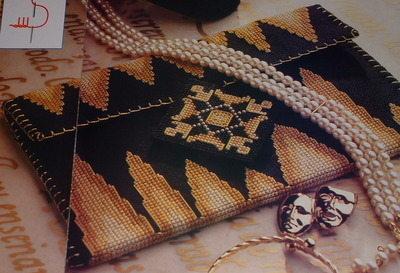 Elegant Evening Clutch Bag ~ Cross Stitch Chart