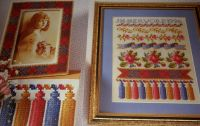 Border Sampler & Picture Frame ~ Two Cross Stitch Charts