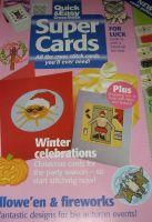 Autumn & Winter Celebration Cards ~ Eleven Cross Stitch Charts