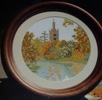 Stratford & the River Avon ~ Cross Stitch Chart
