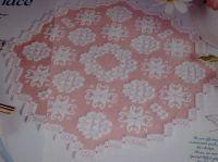 Hardanger Tablemat Centrepiece ~ Hardanger Pattern