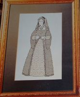Catherine of Aragaon ~ Cross Stitch Chart