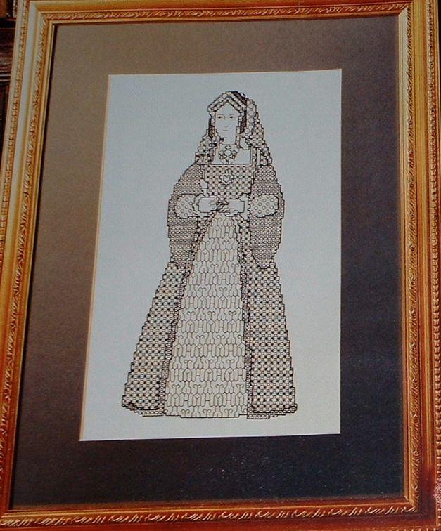 Catherine of Aragaon ~ Cross Stitch Chart