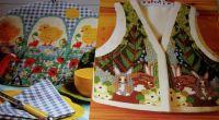 Chicks Tea Cosy & Rabbit Waistcoat ~ Two Needlepoint Charts