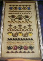 Mill Hill Beadwork Sampler ~ Beadwork Pattern