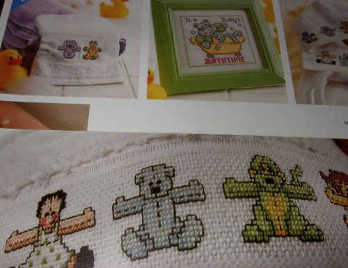 Baby's Cute Animal Motifs ~ Cross Stitch Charts