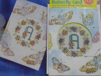 Butterfly Card ~ Mini Cross Stitch Kit