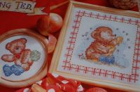 Rambling Ted ~ Two Cross Stitch Charts