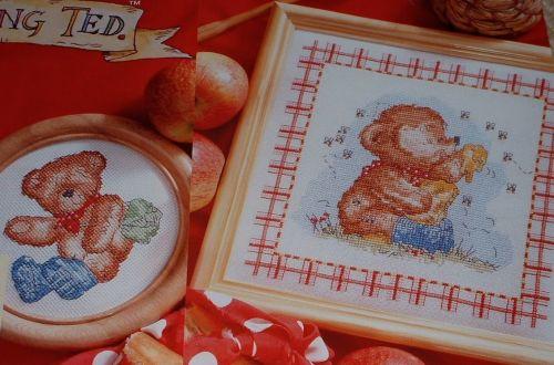 Rambling Ted ~ Two Cross Stitch Charts