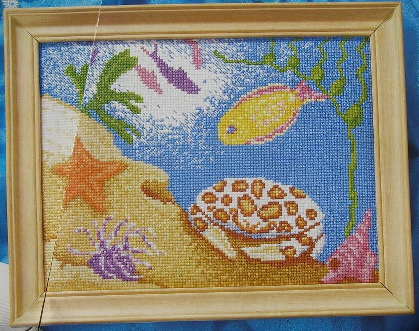 On the Ocean Floor ~ Cross Stitch Chart