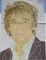 Rod Stewart: Rock Star ~ Cross Stitch Chart