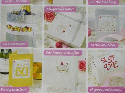 Happy Anniversary ~ 35 Cross Stitch Charts