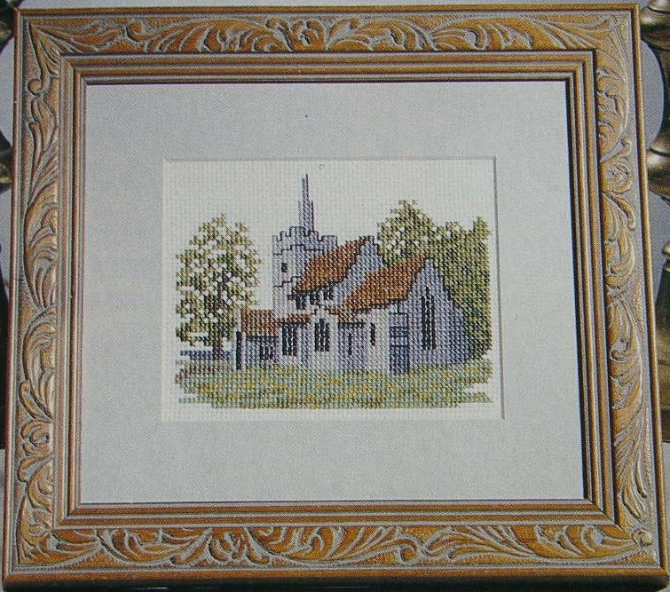 Country Church ~ Cross Stitch Chart