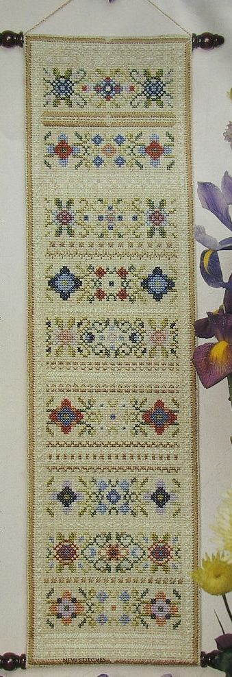 Band Sampler ~ Cross Stitch & Embroidery Pattern