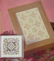 Cross Stitch Coasters & Hardanger Gift Boxes ~ Four Cross Stitch & Embroidery Patterns