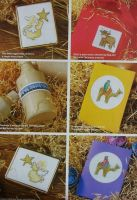 35 Christmas Nativity Cards ~ Cross Stitch Charts