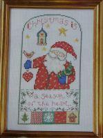 Christmas Is ... ~ Cross Stitch Chart