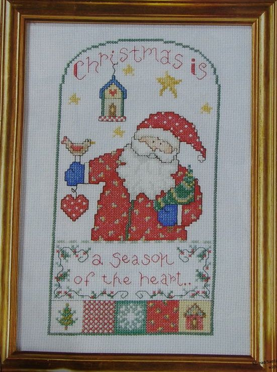 Christmas Is ... ~ Cross Stitch Chart