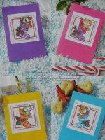 Christmas Stocking Cats & Dogs ~ Seven Cross Stitch Charts