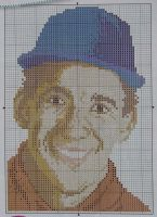Ayrton Senna: Formula One racing Driver ~ Cross Stitch Chart