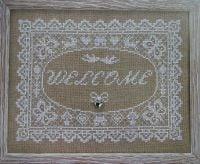 Rustic Welcome Sampler ~ Cross Stitch Chart