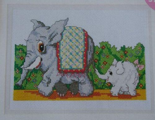 Elephant Parade ~ Cross Stitch Chart
