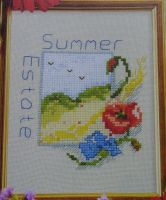 Summer Estate ~ Cross Stitch Chart