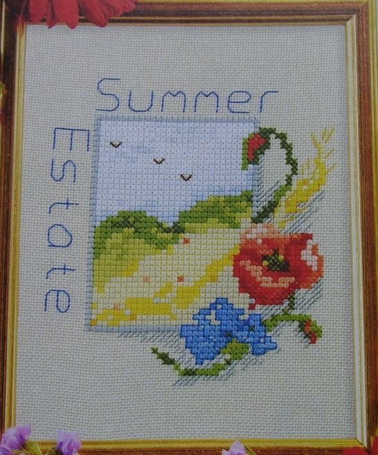 Summer Estate ~ Cross Stitch Chart