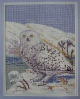 Snowy Owl ~ Cross Stitch Chart