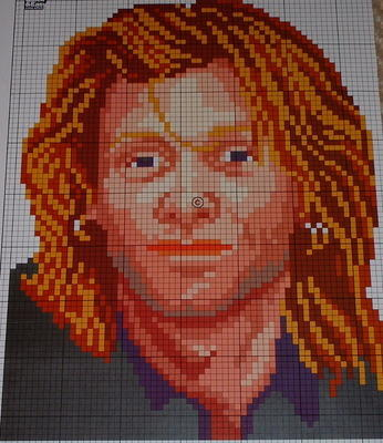Jon Bon Jovi ~ Cross Stitch Chart