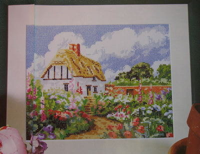 Country Cottage ~ Cross Stitch Chart
