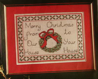 From Our House to Your House ~ Cross Stitch Chart