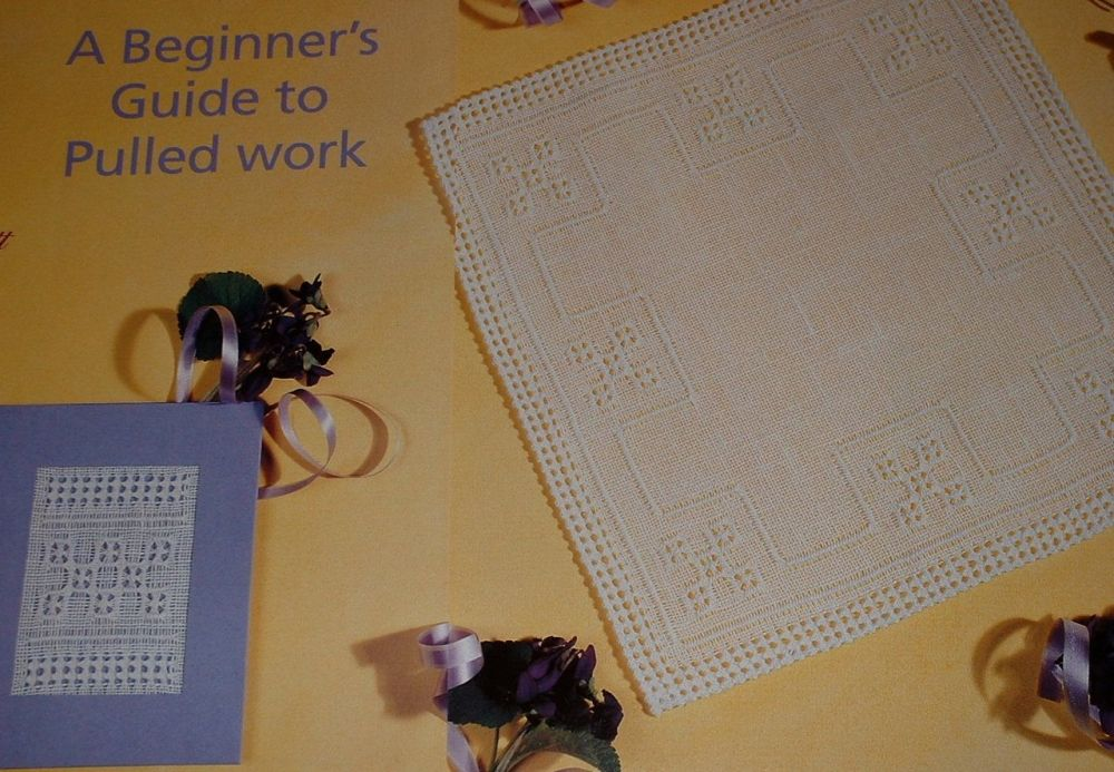 Beginner's Guide to Pulled Work ~ Two Pulled Work Embroidery Patterns