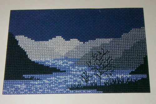 Moonlight Upon the Water ~ Cross Stitch Chart