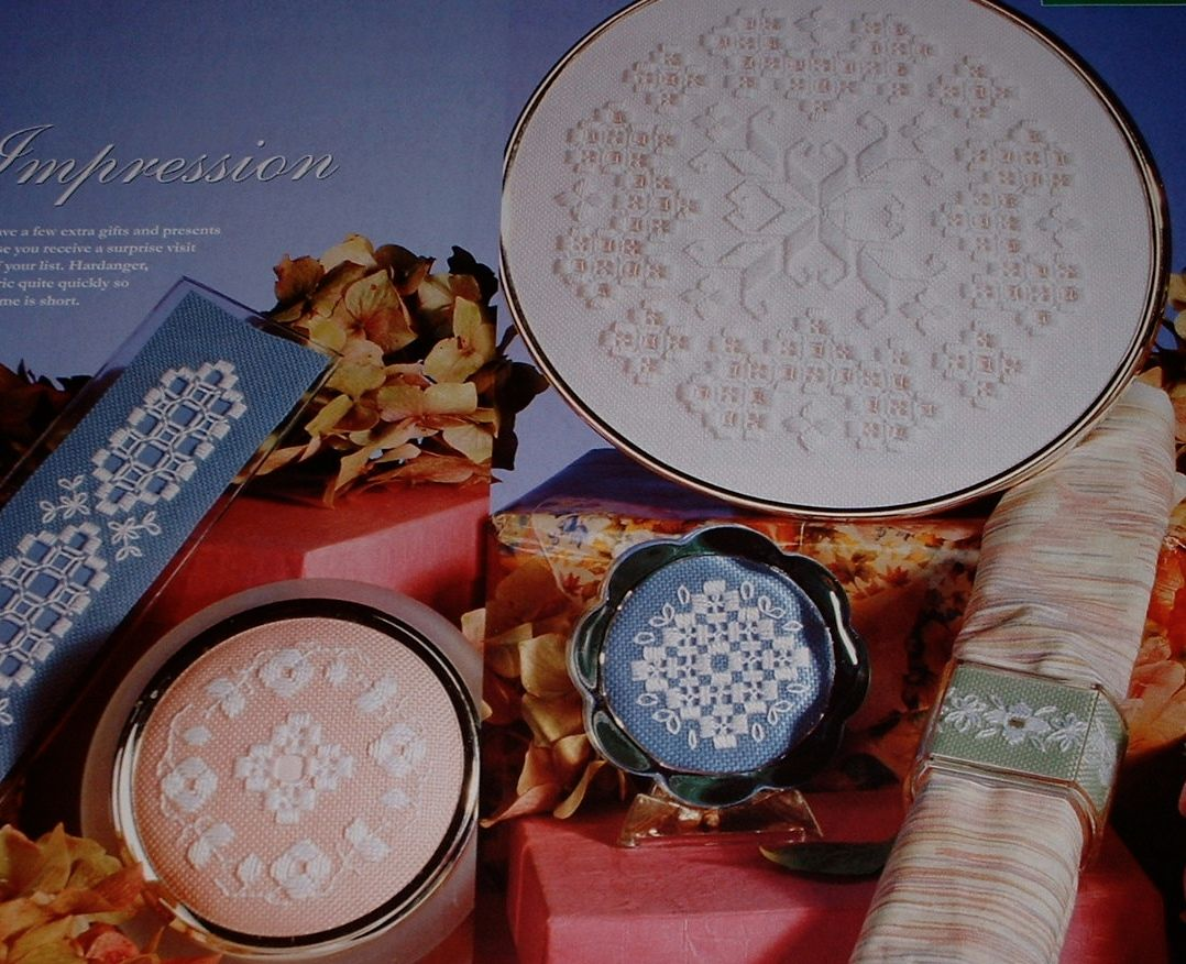 Five Hardanger Designs ~ Embroidery Patterns