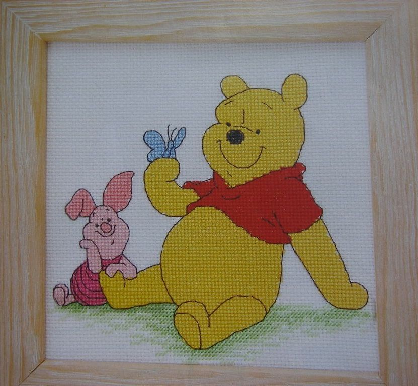 Pooh & Piglet ~ Cross Stitch Chart